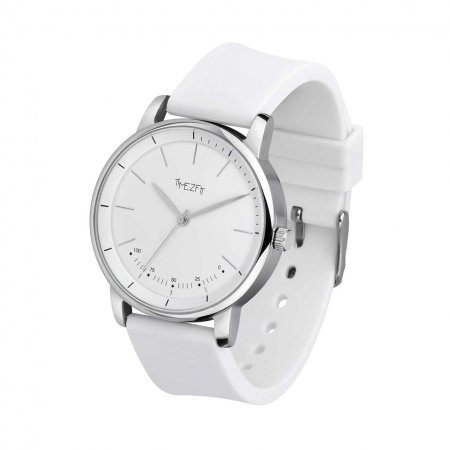 WatchTracker - silicon white